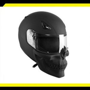 Kask-motocyklowy-czaszka-czarny-mat-HJC
