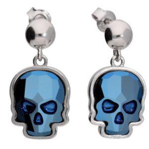 Kolczyki-srebro-925-niebieska-czaszka-Swarovski