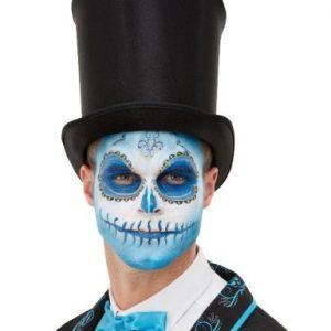Make-up-Dzien-Zmarlych-Halloween-Charakteryzacja