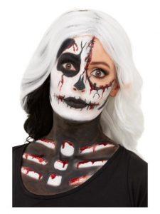 Make up CZASZKA Zestaw-Make-Up-Szkieletor-Kosciotrup
